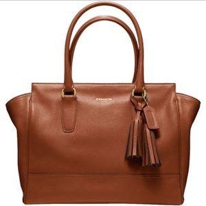 Coach Legacy Candace Bag Cognac